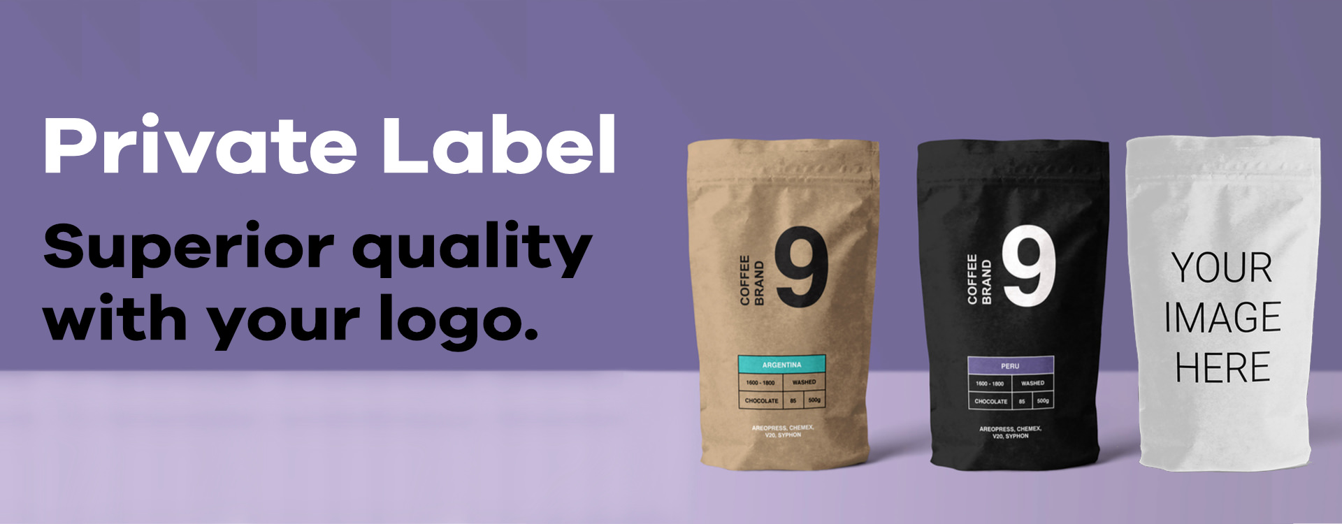Private Label Coffee Beans