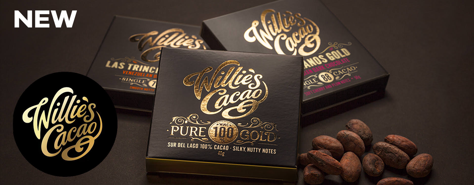 Willie's Cacao Chocolate Range